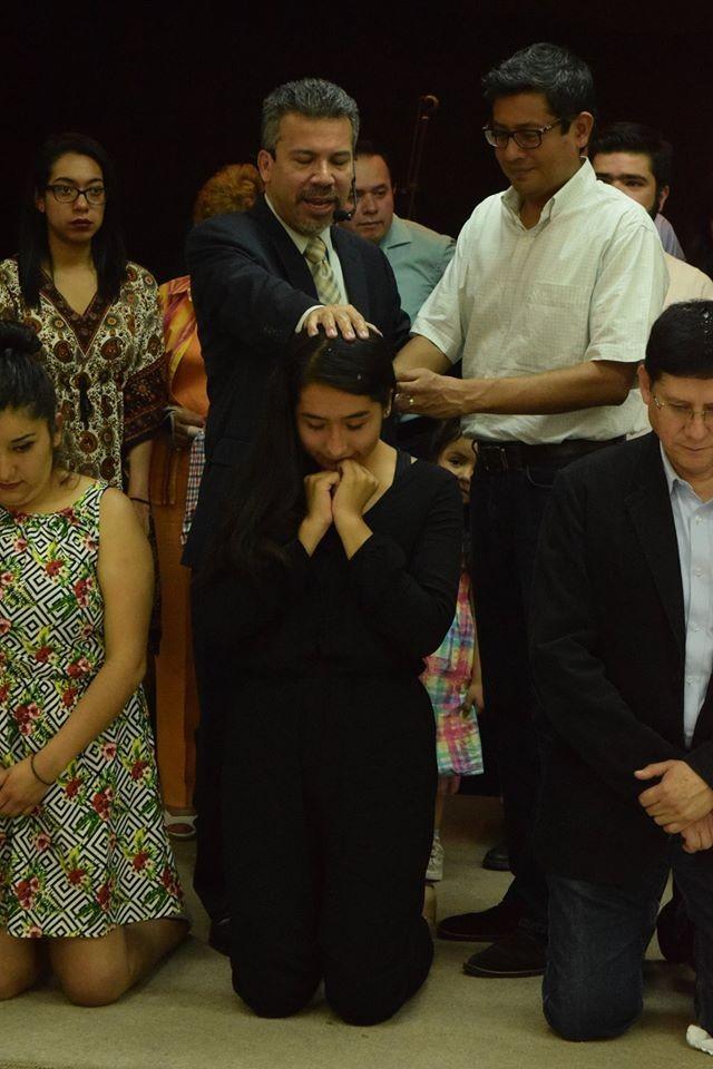Nuevos miembros bautizo